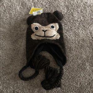 Disney Scala youth monkey/bear hat